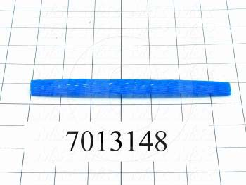 "Tubing, 1.00"" OD, Blue Color, Netting 1/2"" - 1"""