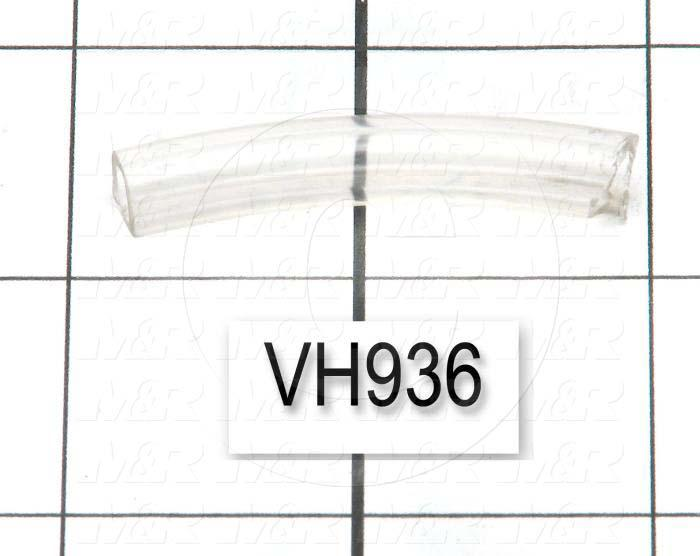"Tubing, 5/16"" OD, Clear Color, Vinyl Material, Use On PJ35 &PJ51 Vacuum Pump Assembly"