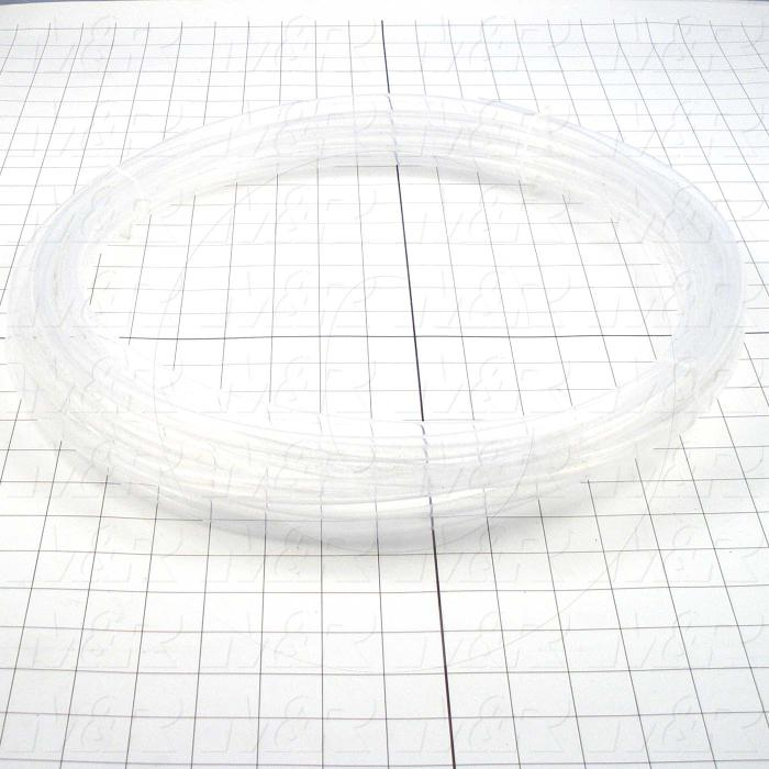 "Tubing, PTFE, 3/8"" Inside Diameter, Outside Diameter 7/16"""