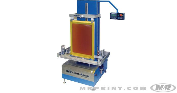 UNI-KOTE Automatic Screen Coating Machine