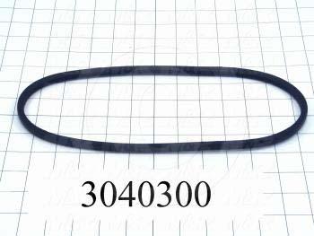 """V-Belts, 3L V-Belt Type, 3L290 Trade Size, 29"""" Outside Length"""