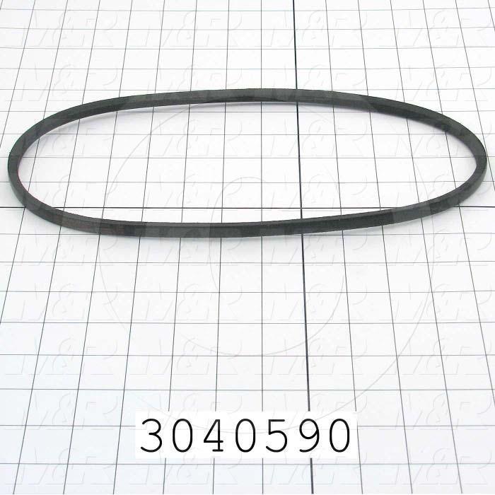 """V-Belts, 3L V-Belt Type, 3L300 Trade Size, 30"""" Outside Length"""