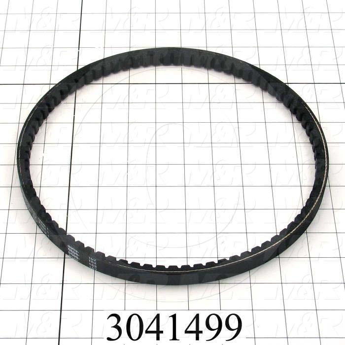 "V-Belts, B V-Belt Type, B30 Trade Size, 33"" Outside Length"