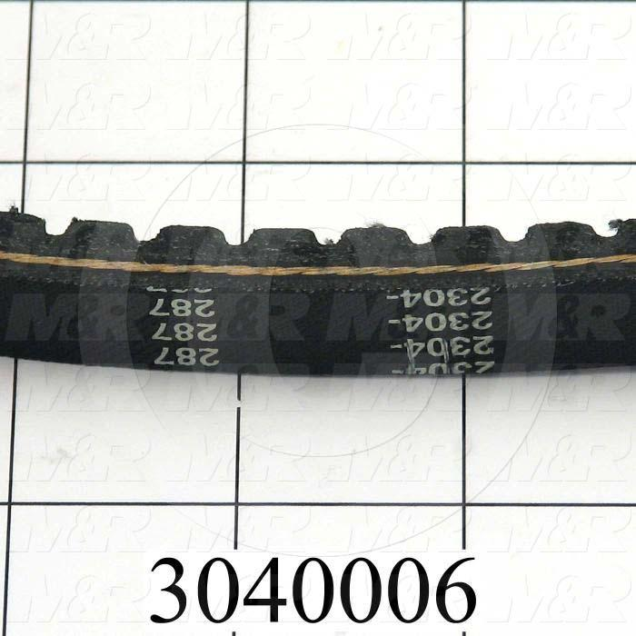 "V-Belts, B V-Belt Type, B32 Trade Size, 35"" Outside Length"