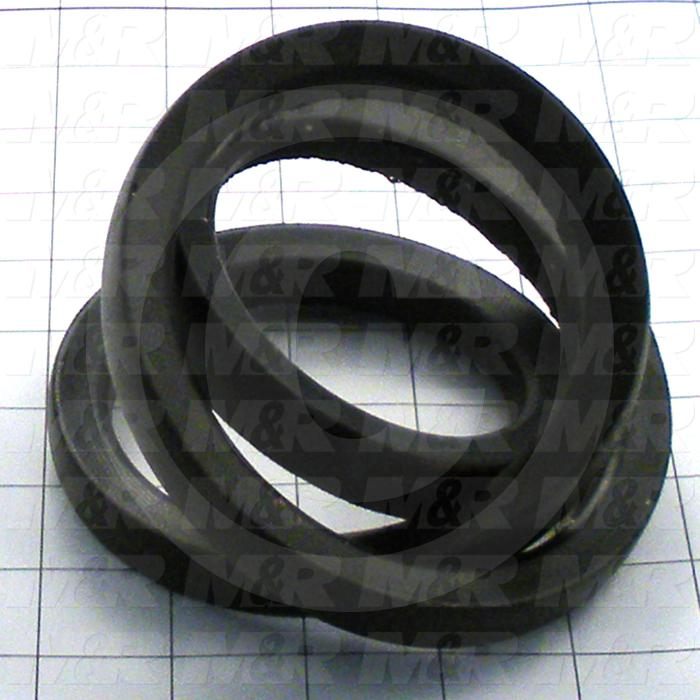 "V-Belts, B V-Belt Type, B36 Trade Size, 39"" Outside Length"
