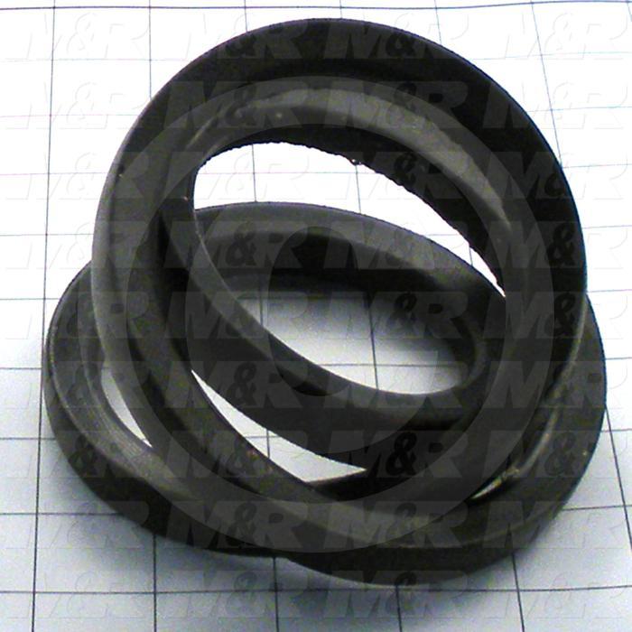 "V-Belts, B V-Belt Type, B36 Trade Size, 39"" Outside Length"