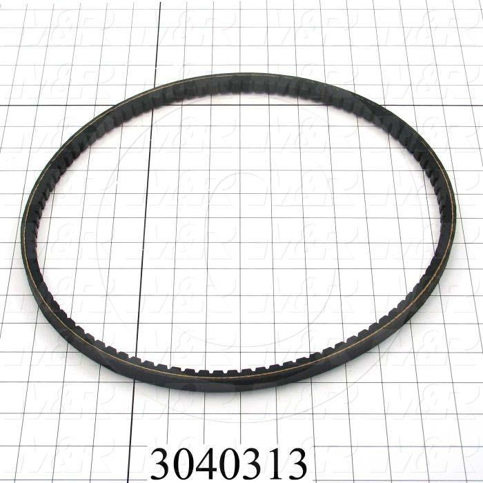 "V-Belts, B V-Belt Type, B37 Trade Size, 40"" Outside Length"
