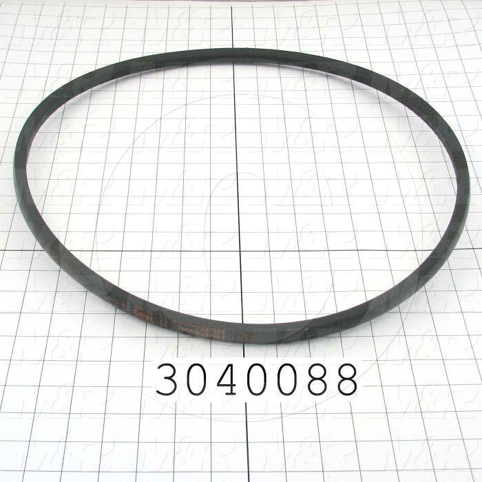 "V-Belts, B V-Belt Type, B49 Trade Size, 52"" Outside Length"