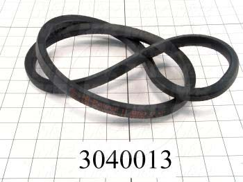 "V-Belts, B V-Belt Type, B50 Trade Size, 53"" Outside Length"