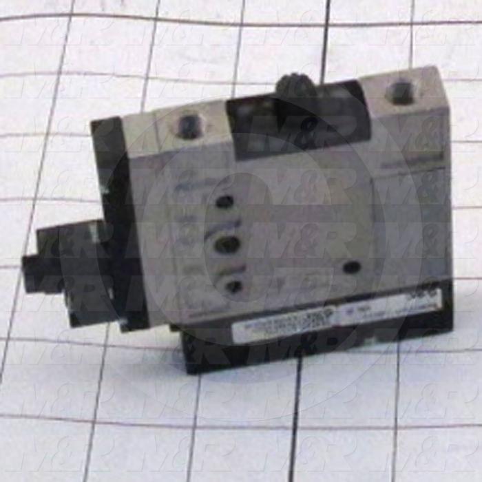 Vacuum Ejector, Air Operated, 630mmHg Max. Vacuum Pressure, 40 l/min Max. Suction Flow, I Station Unit, 24VDC Voltage