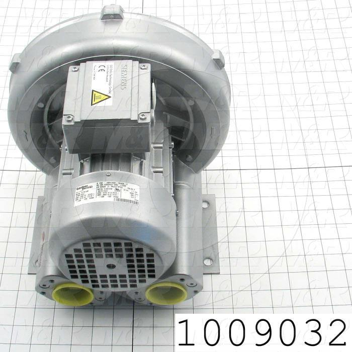 Vacuum Motor, 0.87KW, 230/460VAC, 3 Phase, 60Hz, 4.4/2.2A