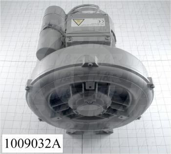 Vacuum Motor, 0.95KW, 115/230VAC, 1 Phase, 60/50Hz