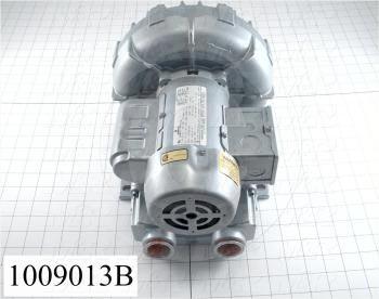 Vacuum Motor, 1/3HP, 3450 RPM, 115/230VAC, 1 Phase, 60/50Hz