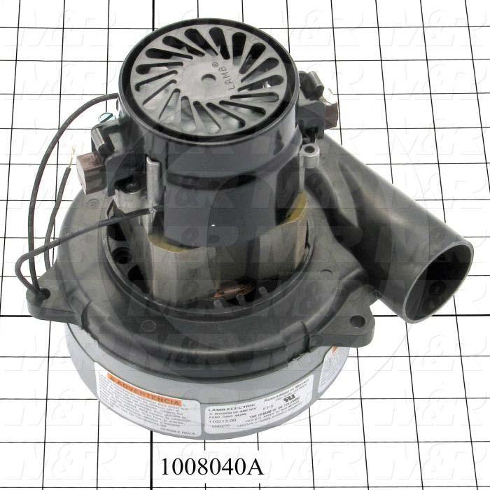 Vacuum Motor, 96 CFM, 220V, 1 Phase, 60/50Hz