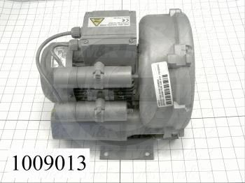 Vacuum Motor, Two Stage, 0.34HP, 115/220VAC