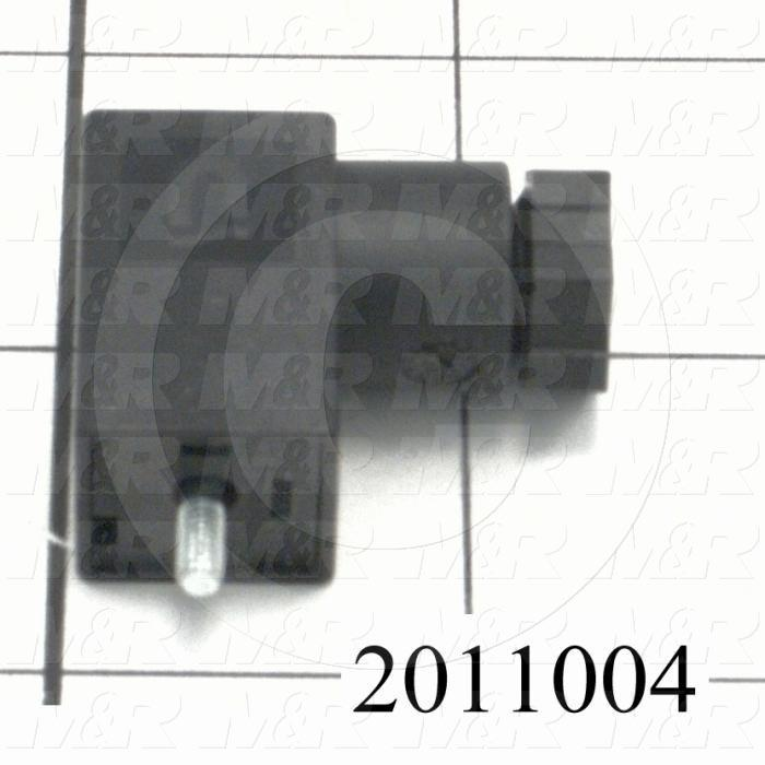 Valve Accessories, Female Plug With Gasket And Screw, Used For MAC 45 series Valves