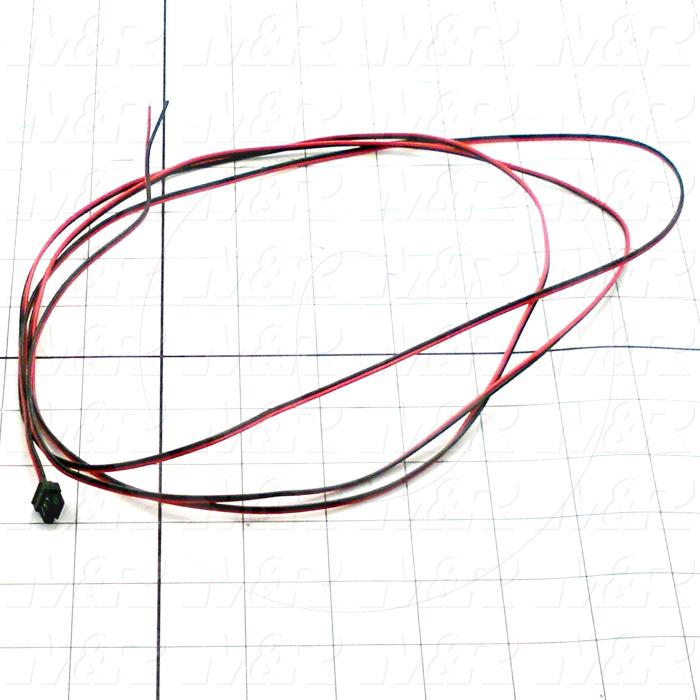 Valve Cable, With Plug, 3m, 24VDC