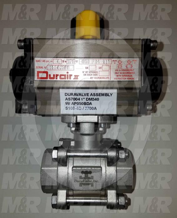 "Valves Mechanical / Hand, Ball Valve Type, 1"" NPT Female Port In, 1"" NPT Female Port Out, Comes With Visual Indicator"