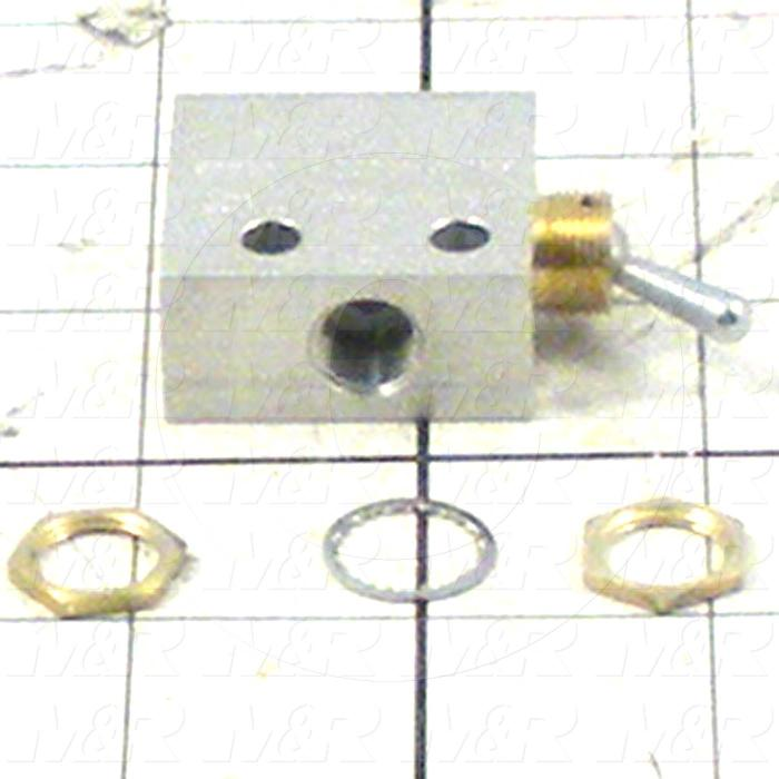 "Valves Mechanical / Hand, Manual Valve Type, 1/8"" NPT Port In, 1/8"" NPT Port Out, 1/8"" NPT Exhaust, 2 Position 3 Way Operation"