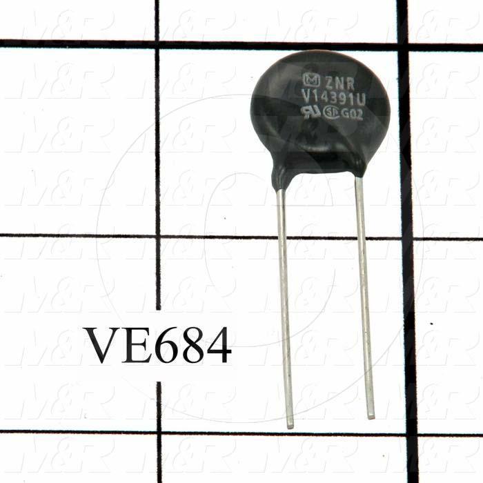 Varistors, Transient Suppressor, 250VAC, 320VDC