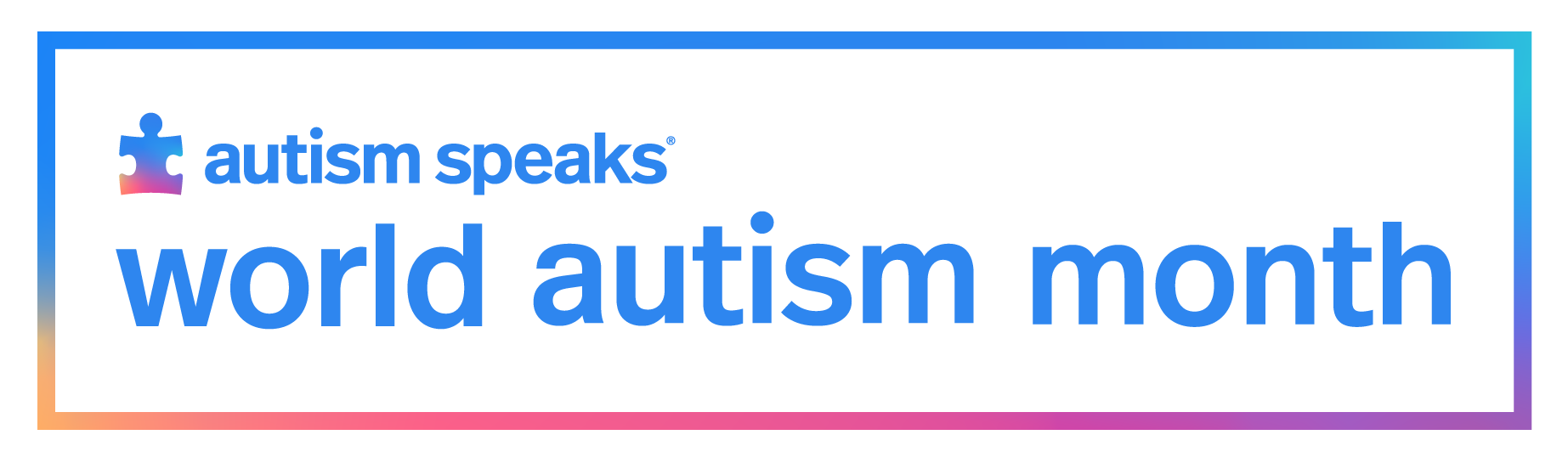Autism Speaks World Autism Month