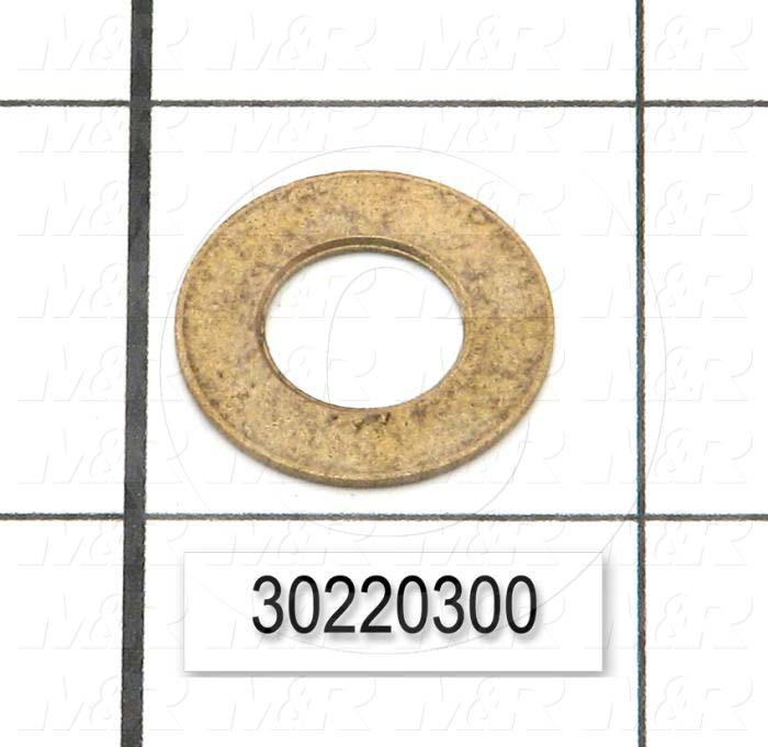 "Washers and Shims, Aluminum, Flat Washer Type, Grade Class 8, 7/8"" Screw Size, Outside Diameter 3.130"""