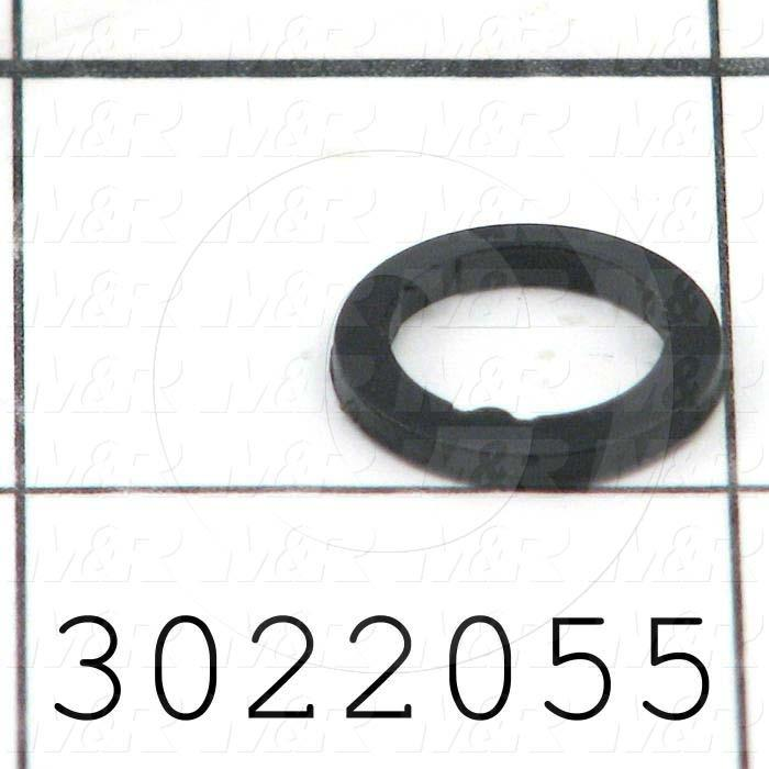 Washers and Shims, Plastic, Flat Washer Type, Inside Diameter 10.2mm, Outside Diameter 14mm, 1.9mm Thickness, Note : Sealing Type