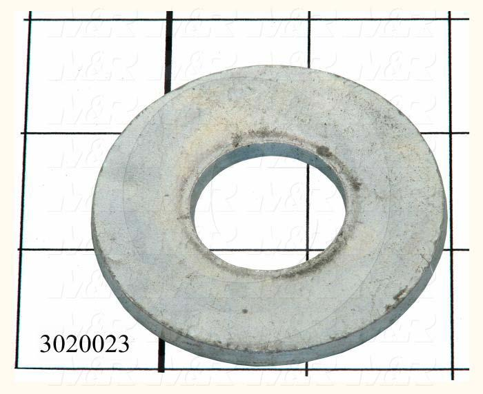 3020023 :: Washers and Shims, Steel, Wrought Flat Washer Type, 1