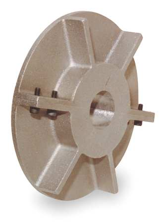 "Wheel, Wheel Diameter 6"", Bore Size 1.44"", Temperature Rating 450F"