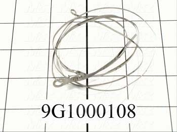 "Wire Assembly, Type Seal Wire, Flat, Length 30"", Note Used On 24"" Omni-Bagger"