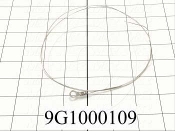 "Wire Assembly, Type Trim Wire, Round, Length 30"", Note Used On 24"" Omni-Bagger"