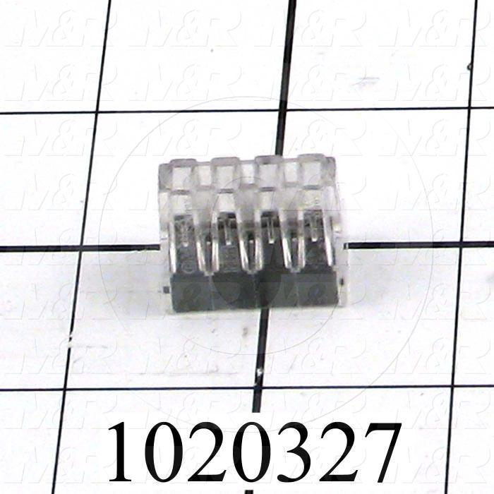 Wire Connector, Pushwire, 8 Conductors