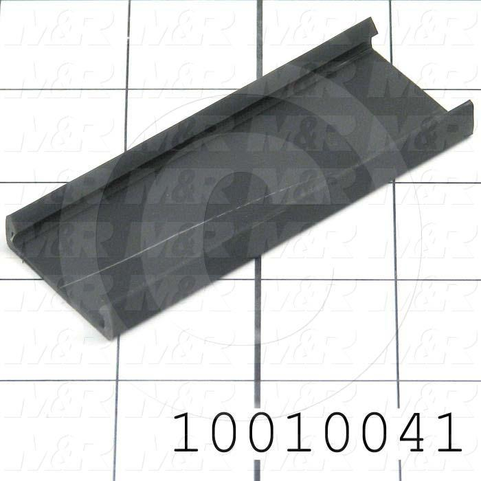 """Wire Duct Cover, 1"""", Black"""