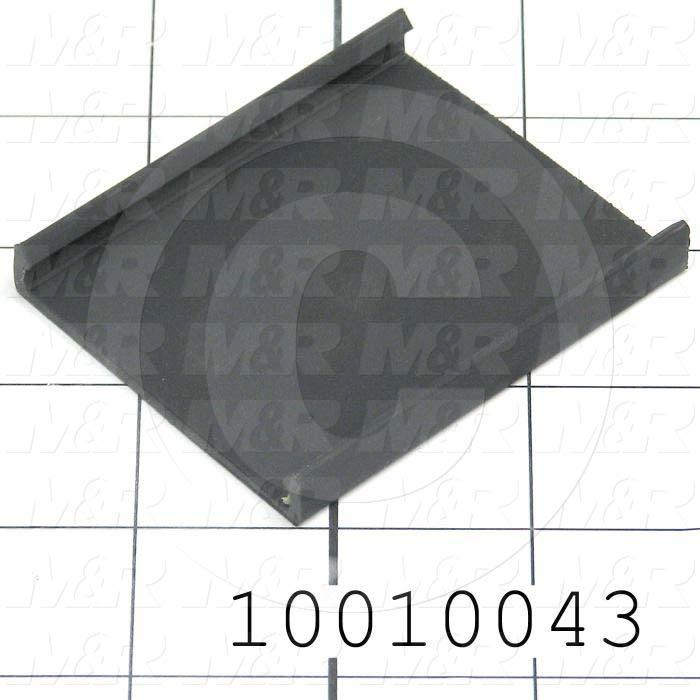 "Wire Duct Cover, 2"", Black"