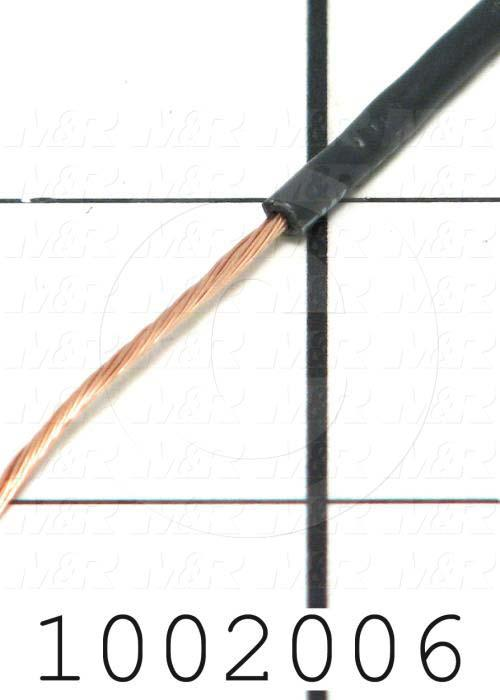Wire, Ignition, 18AWG, Black