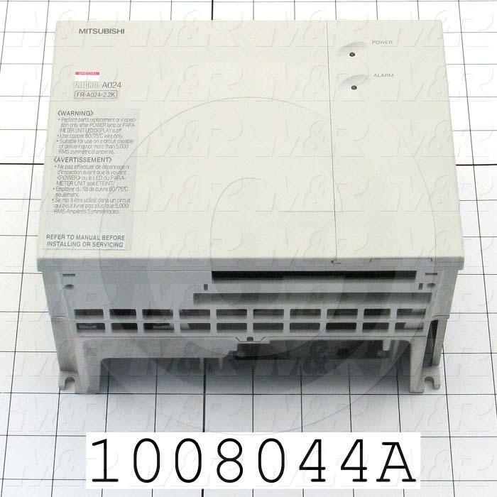 AC Drive, A Series, 2.2KW, 208-230VAC