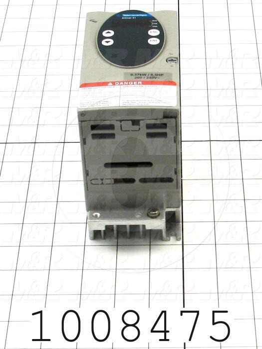 AC Drive, Altivar31 Series, 0.37KW (1/2HP), 208-230VAC, 1 Phase