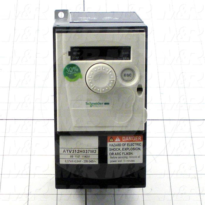 AC Drive, Altivar312 Series, 0.37KW (1/2HP), 240VAC, 1 Phase
