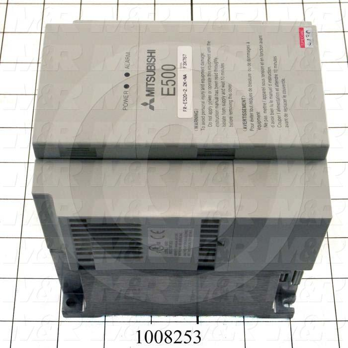 AC Drive, E520 Series, 2.2KW, 208-230VAC