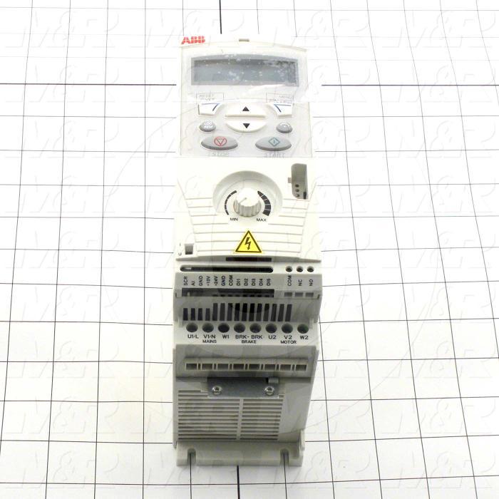 AC Drive, FR-S510WE Series, 0.37KW (1/2HP), 208-230VAC