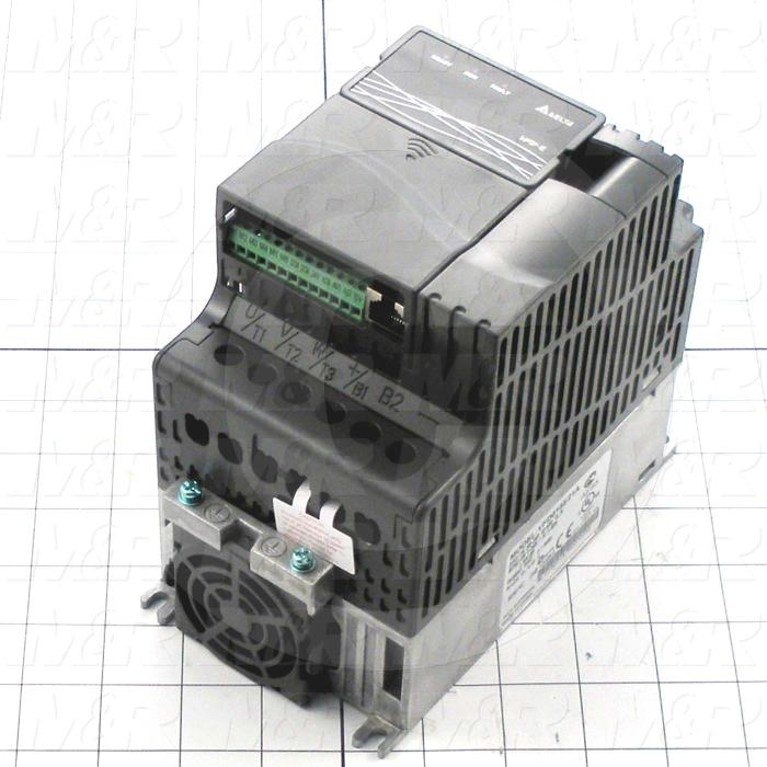 AC Drive, FR-S510WE Series, 1.5KW (2HP), 230VAC, 1 Phase, 230VAC Output, 3 Phase