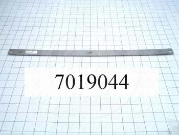 "Accessories, Pin Bar, 20.00 in. Length, 1.00 in. Width, Pins Are 17"" Apart From Pin Centers"