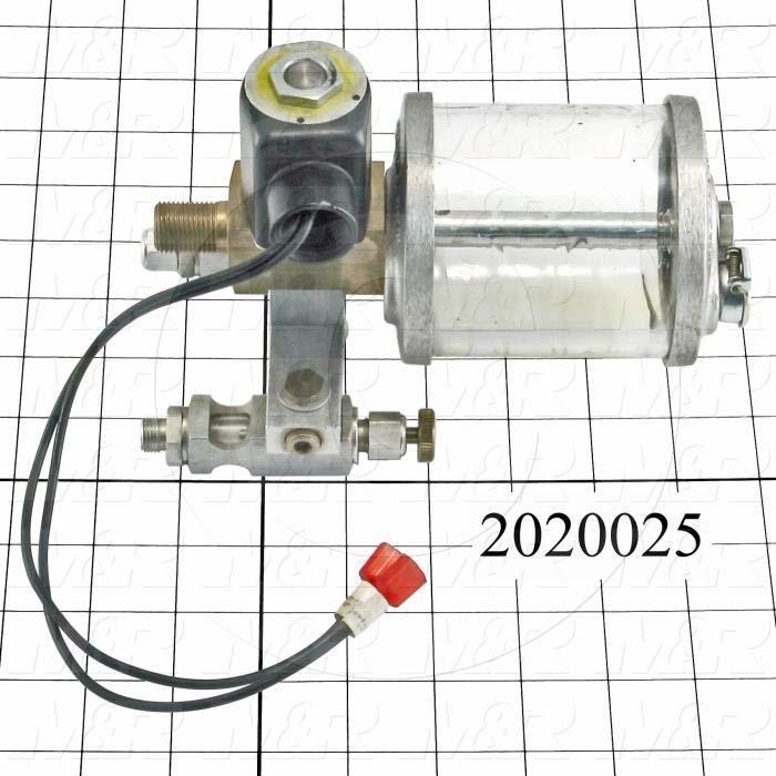 "Adjustable-Flow Oil Reservoir, Type : Electric Adjustable-Flow Oil Reservoir, Height 7.31"", Bowl Diameter 3.0"", Capacity 9 oz"