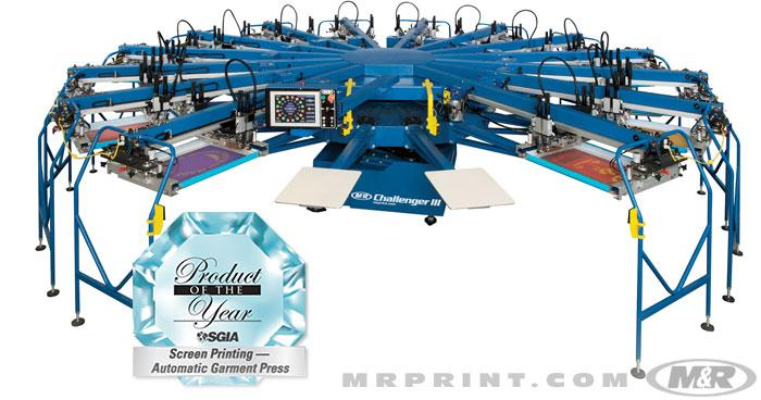 Challenger III Automatic Textile Press