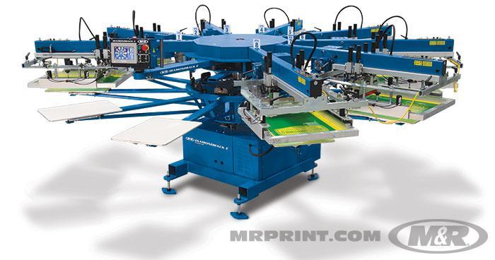 DIAMONDBACK E™ Automatic Screen Printing Press