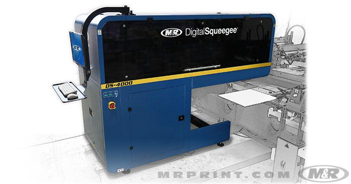DS-4000 Digital Squeegee sets the standard for hybrid printing