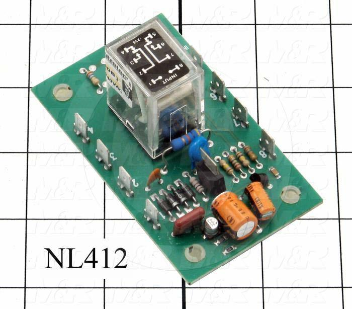 Fabricated Parts, 170 Sec Timer Rf Kit, 3.62 in. Length, 2.12 in. Width, 1.50 in. Height