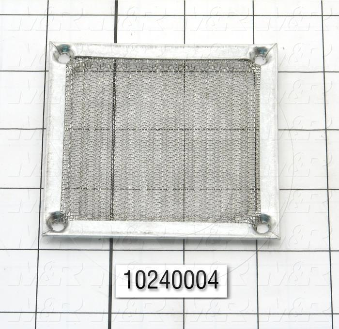 "Fan Filter, Assembly, 3"", Metal"