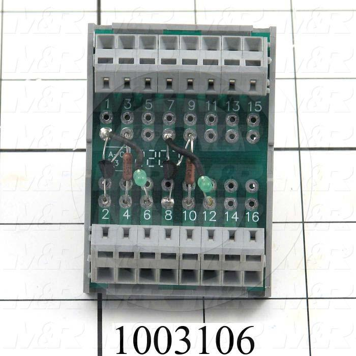 Interface Assembly, PLC To AC Drive, Custom Build From Items 1003100-1003105