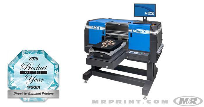 M-LINK™ & M-LINK X™ Direct-to-Garment Digital Printers